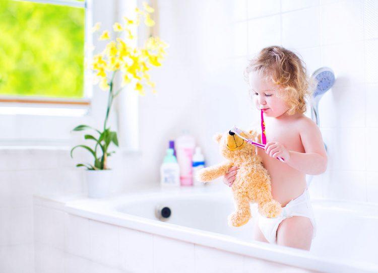 Kindgerechte Badezimmer
