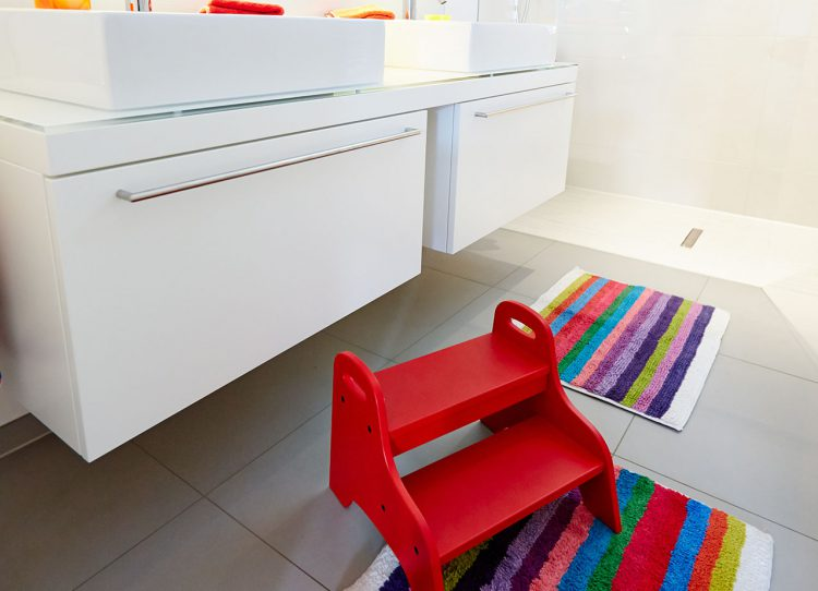 Kinder-Bad Umbau Hausmann
