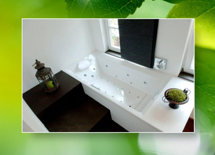bad in der scheune. Black Bedroom Furniture Sets. Home Design Ideas