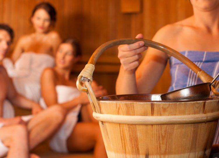 Sauna gegen Alltagslasten
