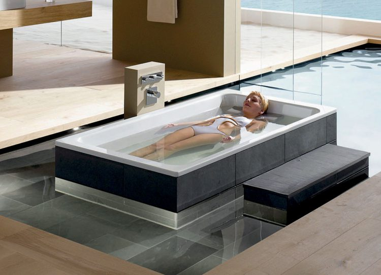Mein Bad wird zum Health Spa