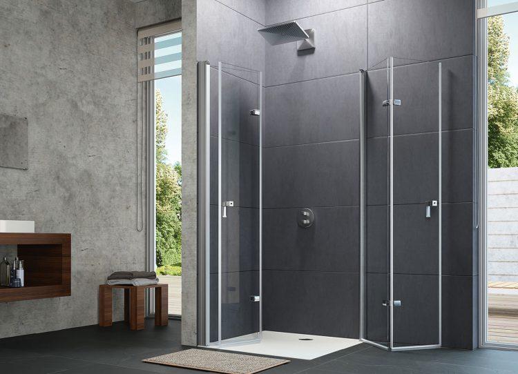 Erfrischend offene Duschabtrennungen