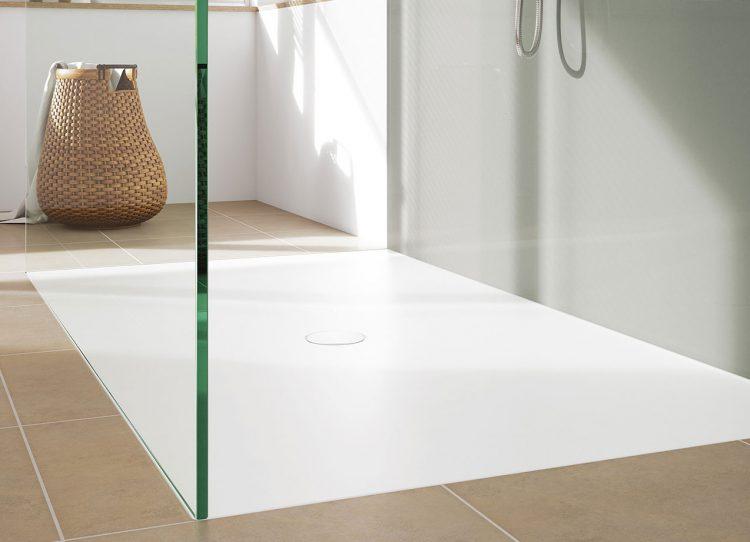Neue Abläufe für die Dusche