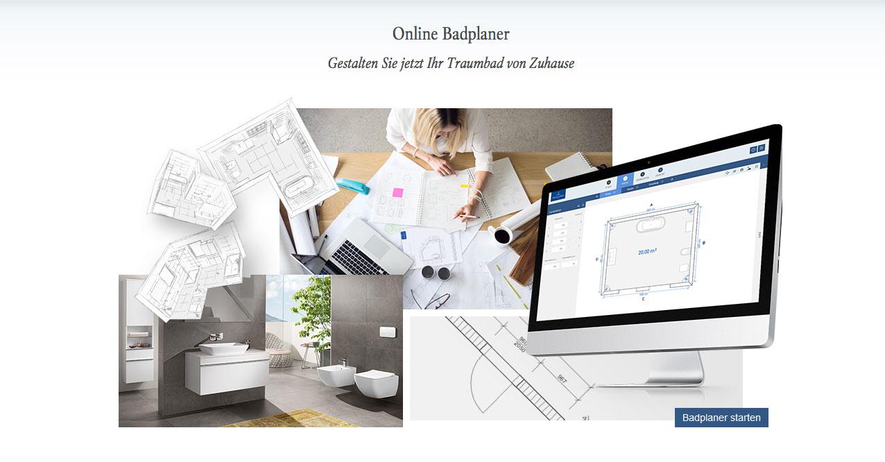 Mit einem Online-Badplaner kann man sein Bad am Computer umbauen.