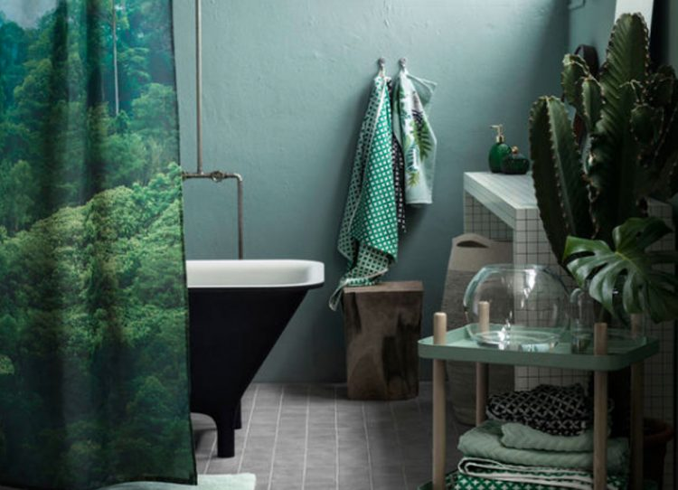 Wir lieben Grün! Die Trendfarbe, die die Natur ins Badezimmer holt.