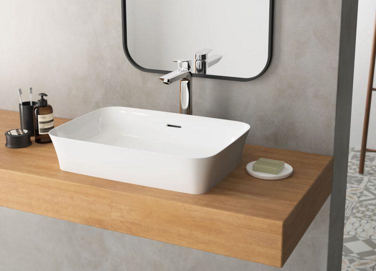 setzen sie akzente im bad mit modernen hochwertigen waschbecken. Black Bedroom Furniture Sets. Home Design Ideas