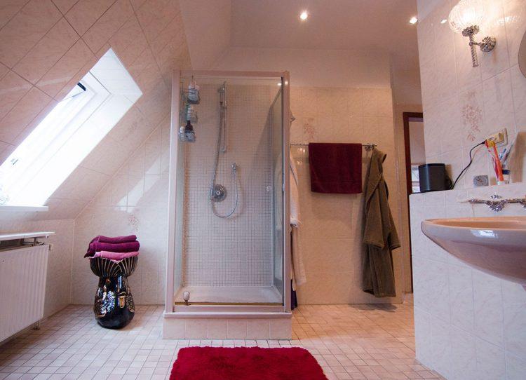 Duschparadies unterm Dach