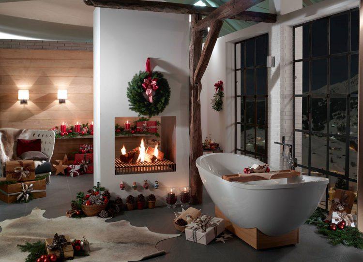 C wie Christmas-Look