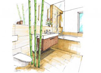 Kleines Bad groß geplant