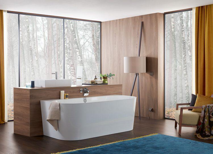 Naturlich Schone Bader Setzen Auf Holz Einrichtungsbeispiele Und Tipps