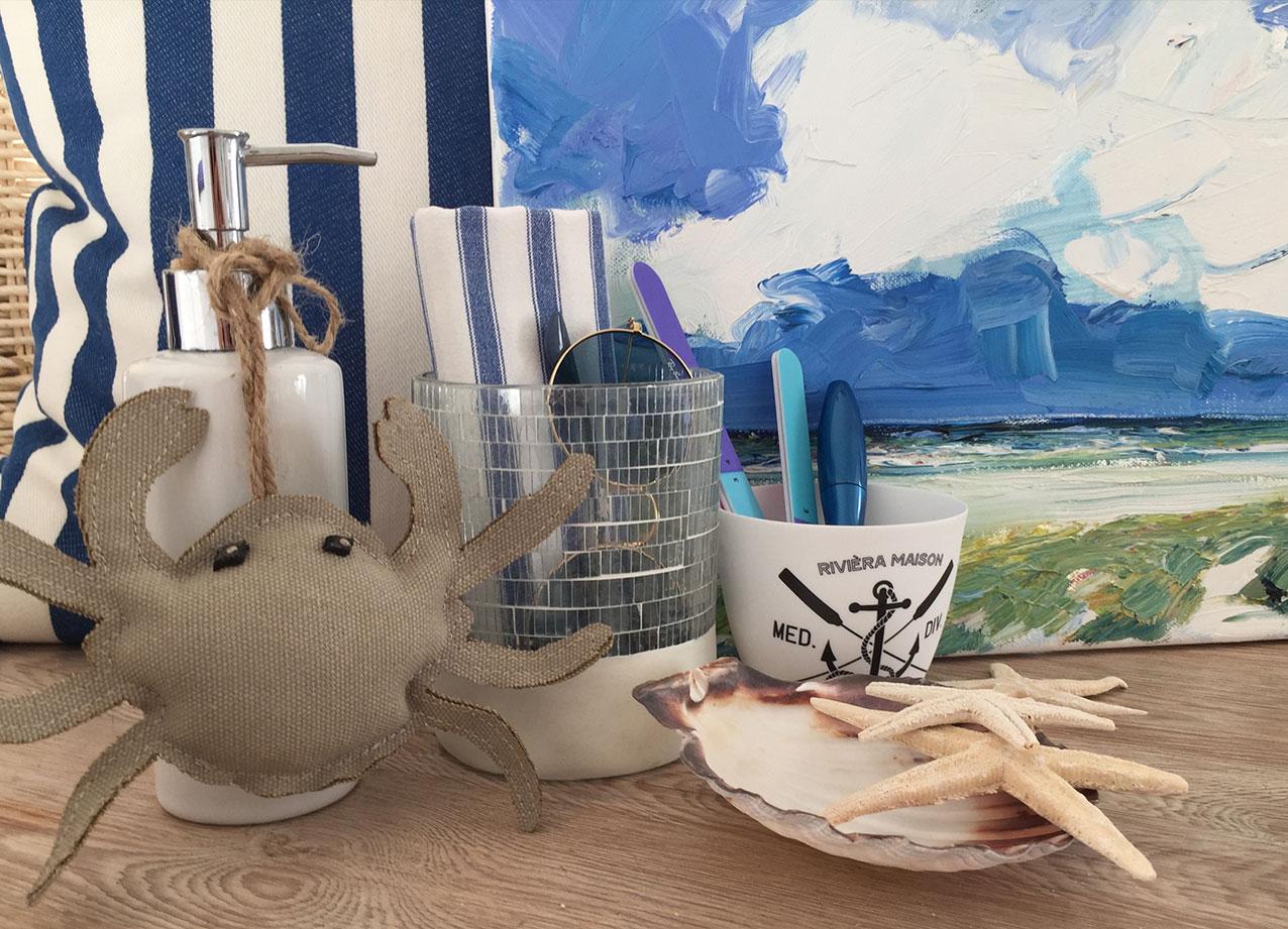 Stilvorlage Maritim Mit diesen Ideen zieht Strandfeeling in Ihr Bad