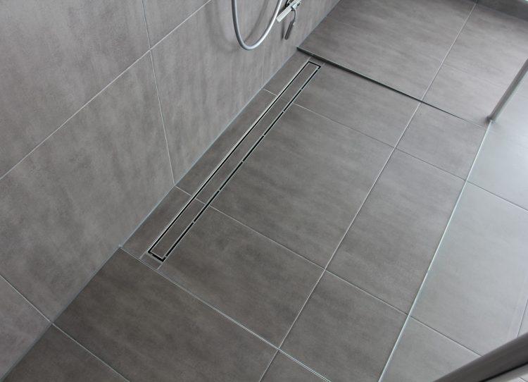 Schwellenlose Walk-in-Dusche