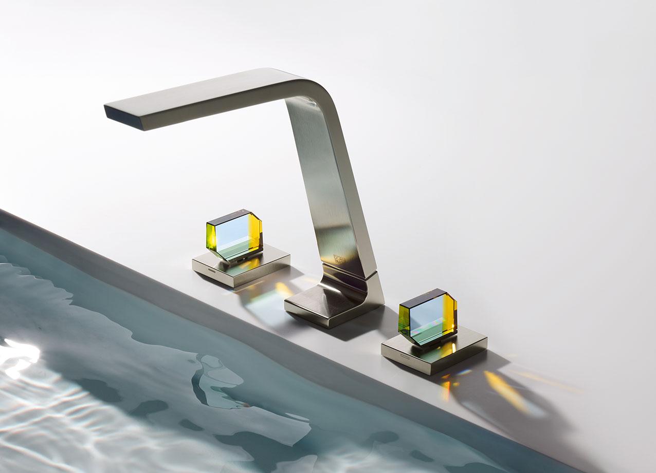 Dornbracht CL1 Glasgriffe Waschtisch Armaturen