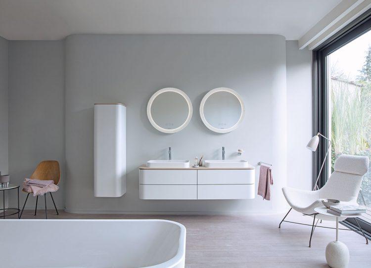 Weiß im Bad bringt Ruhe