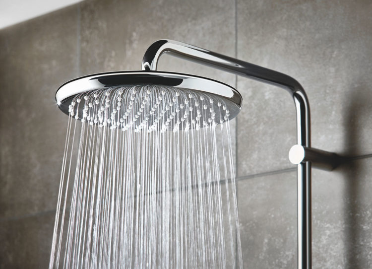 Wohlgefühl unter der Dusche